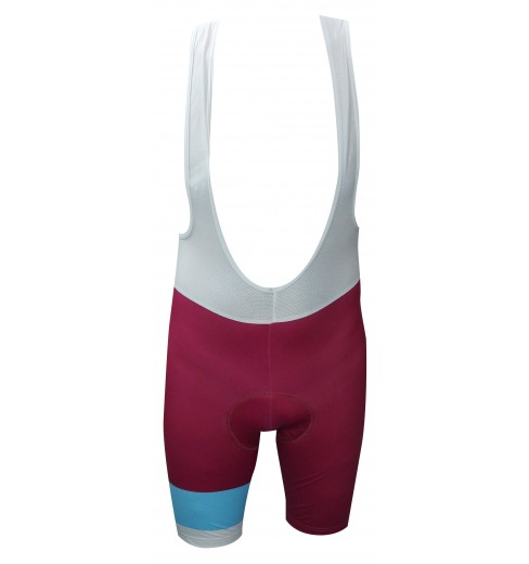RAFA'L Vintage burgundy light blue bibshorts 2018