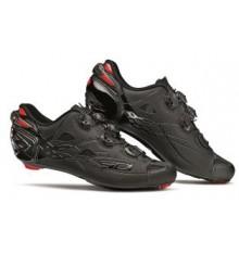 Chaussures vélo route SIDI SHOT noir mat carbon 2019