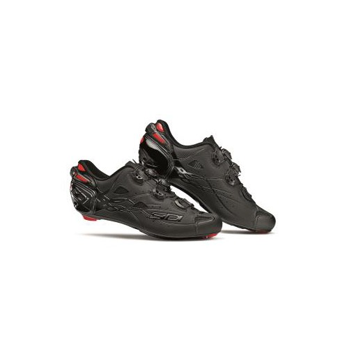 SIDI Shot total black Carbon road cycling shoes 2019