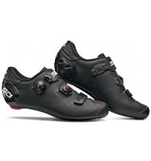 Chaussures vélo route SIDI Ergo 5 Mega noir mat carbon Composite 2019