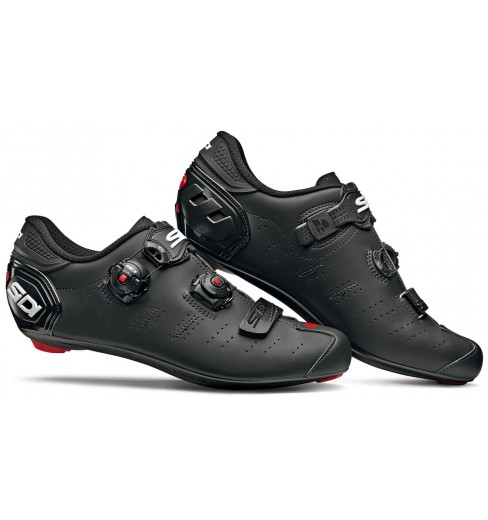 SIDI Ergo 5 Mega Carbon Composite matt black road cycling shoes 2019