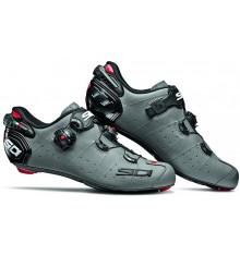 Chaussures vélo route SIDI Wire 2 Carbon gris mat noir 2020