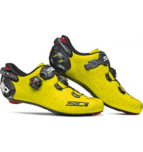8907ce294 SIDI Wire 2 Carbon yellow fluo black road cycling road shoes 2019 CYCLES ET  SPORTS