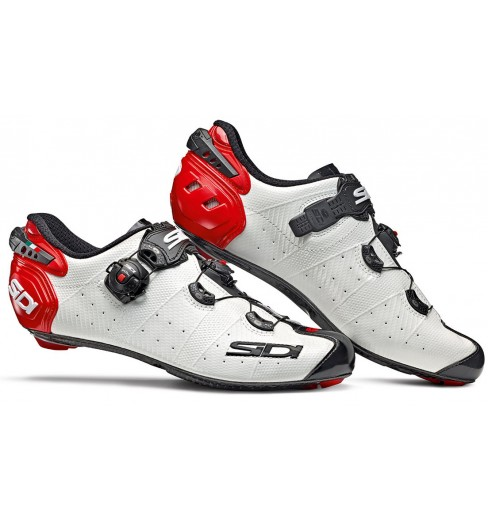 SIDI Wire 2 Carbon white red black road cycling shoes 2020