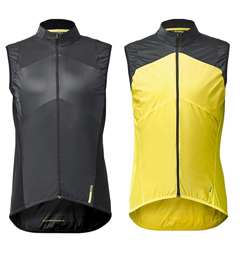 MAVIC Cosmic Wind SL windproof cycling vest 2019