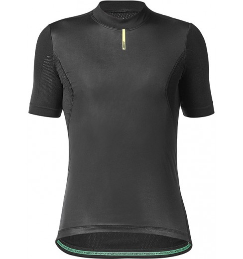Mavic Wind Ride black short sleeve base layer 2020