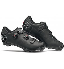 Chaussures VTT SIDI Dragon 5 SRS Mega Carbone noir mat 2019