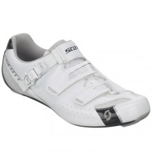 SCOTT Road Pro Lady white silver shoes 2017