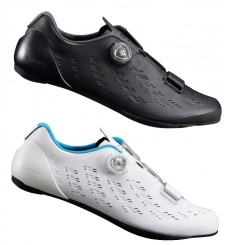 Chaussures vélo route homme SHIMANO RP901 large 2019