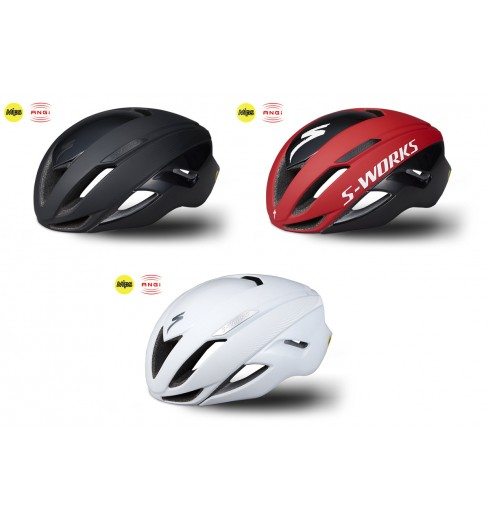 SPECIALIZED S-Works Evade II ANGI MIPS aero road helmet 2019 CYCLES ... b3635e43fcf