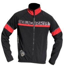 BJORKA Galibier black red winter bike jacket