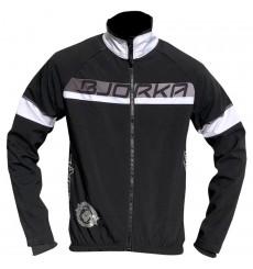 BJORKA Galibier black white winter bike jacket