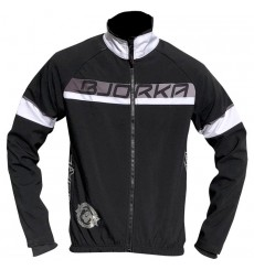 BJORKA veste vélo thermique Galibier noir blanc