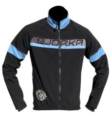 BJORKA veste vélo thermique Galibier noir bleu