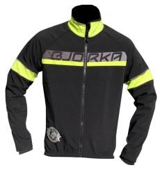 BJORKA Galibier black yellow winter bike jacket
