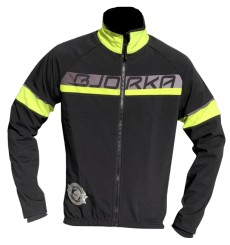 BJORKA veste vélo thermique Galibier noir jaune