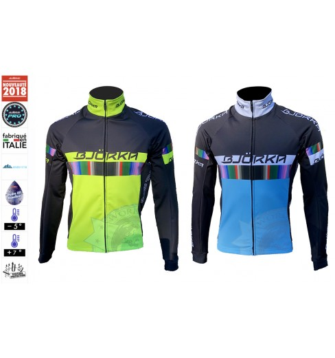 BJORKA veste vélo thermique Rainbow 2019