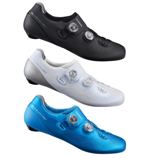 SHIMANO S-Phyre RC901 wide men's road cycling shoes 2019