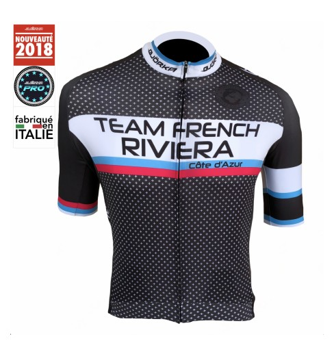 BJORKA maillot vélo manches courtes Team French Riviera 2019