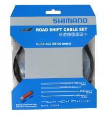Kit câbles, gaines dérailleurs SHIMANO Dura Ace Polymère