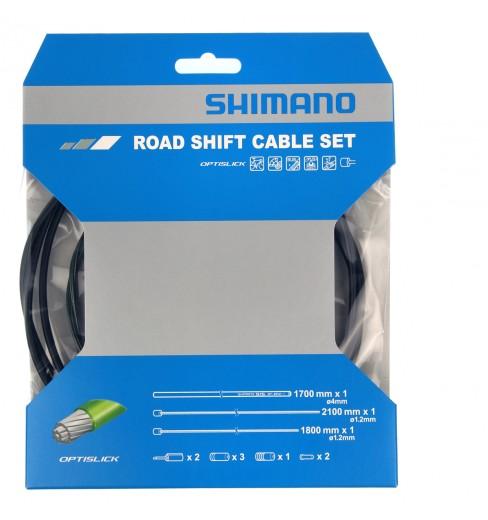 Kit câbles, gaines de dérailleurs SHIMANO OPTISLIK