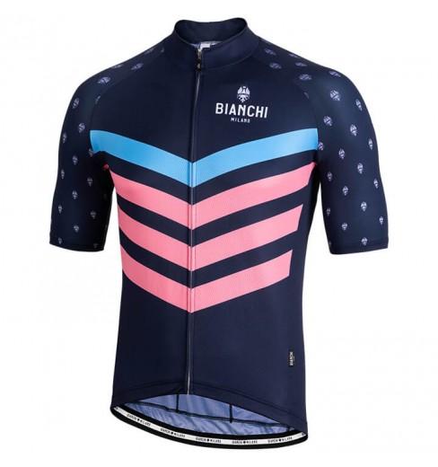 80b3e7202 BIANCHI MILANO Nicandro men s short sleeve jersey 2018 CYCLES ET SPORTS