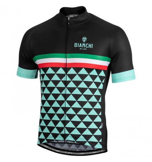 0297da340 BIANCHI MILANO Codigoro men s short sleeve jersey 2018 CYCLES ET SPORTS