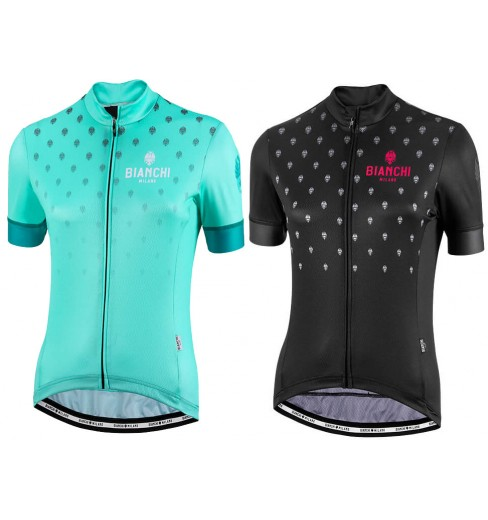 BIANCHI MILANO Isca Women s short sleeve jersey 2017 CYCLES ET SPORTS 97320b667