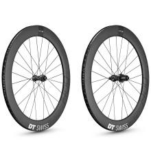 DT SWISS PRC 1400 SPLINE 65 DISC pair wheels