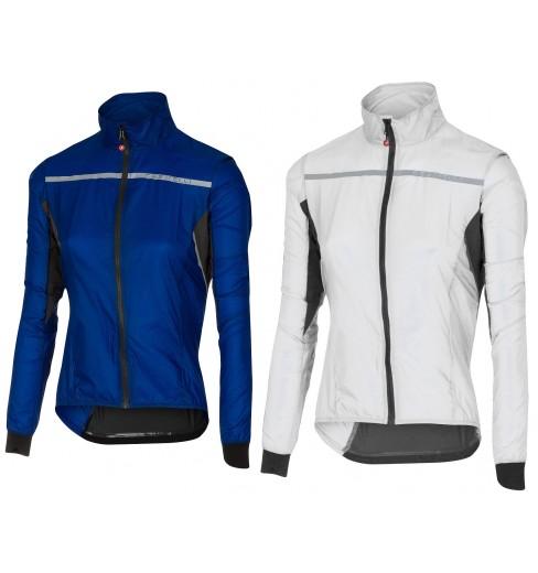 WHITE NEW Castelli SUPERLEGGERA Jacket Windproof Cycling Rain//Wind Shell