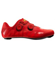 MAVIC Chaussures vélo route homme Cosmic Pro rouge 2019