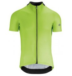 ASSOS Mille GT Visibility Green short sleeve jersey