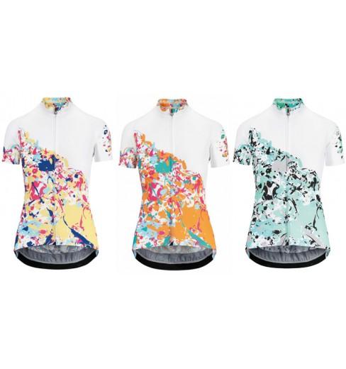 Femmes Maillot De Cyclisme Vélo Sportswear Manches Courtes Vélo Shirt Tops Femmes