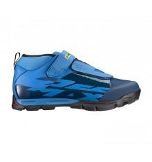 Chaussures VTT MAVIC all mountain DEEMAX ELITE bleu 2019