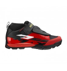 Chaussures VTT MAVIC all mountain DEEMAX ELITE rouge 2019