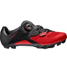Chaussures VTT MAVIC Crossmax Elite noir / rouge 2019