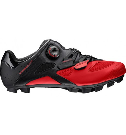 MAVIC Crossmax Elite black / red men's MTB shoes 2019