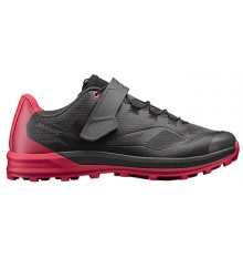 MAVIC Échappée Trail Elite II black / pink women's MTB shoes 2019