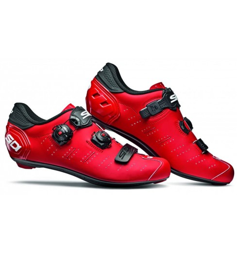 SIDI Ergo 5 Carbon Composite matt red / black road cycling shoes 2019