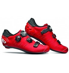 SIDI Ergo 5 Carbon Composite matt red / black road cycling shoes 2019
