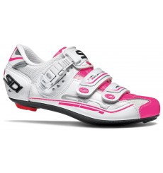 SIDI Genius 7 white / pink fluo women's road cycling shoes