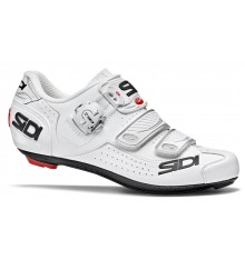 SIDI Alba white women's road cycling shoes