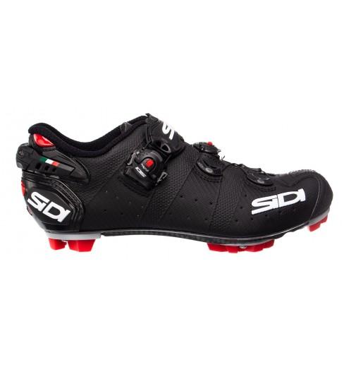 SIDI Drako 2 SRS matt black MTB shoes 2019
