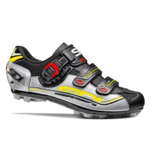 SIDI Eagle 7 black grey yellow MTB Shoes 2017