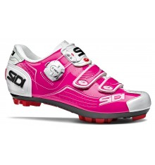 SIDI Trace fushia pink women's MTB shoes