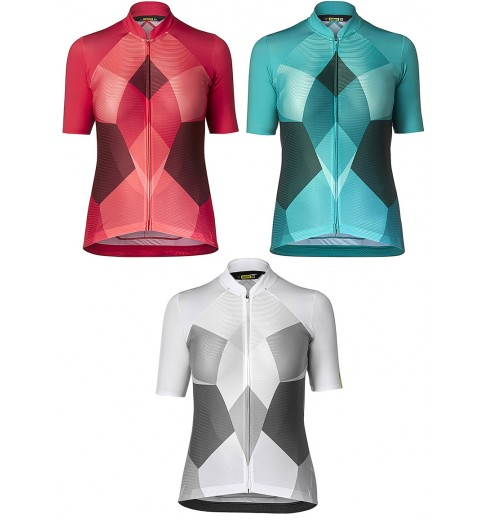 acf7ad0d481 Mavic Sequence Pro women's short sleeve jersey 2019 CYCLES ET SPORTS
