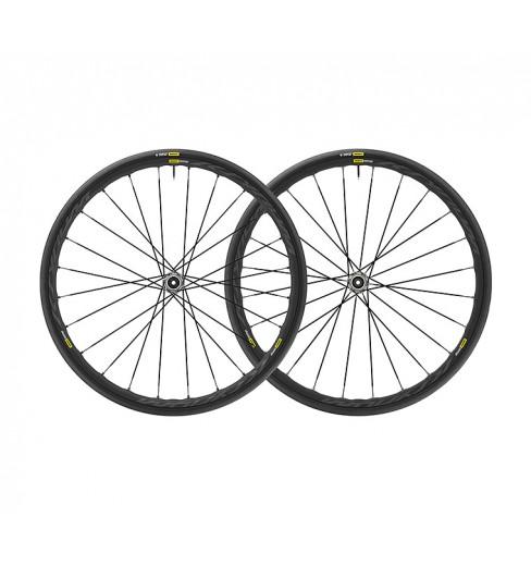 Paire de roues de vélo route MAVIC Ksyrium Elite UST DISC 2019