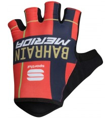 BAHRAIN-MERIDA cycling gloves 2019