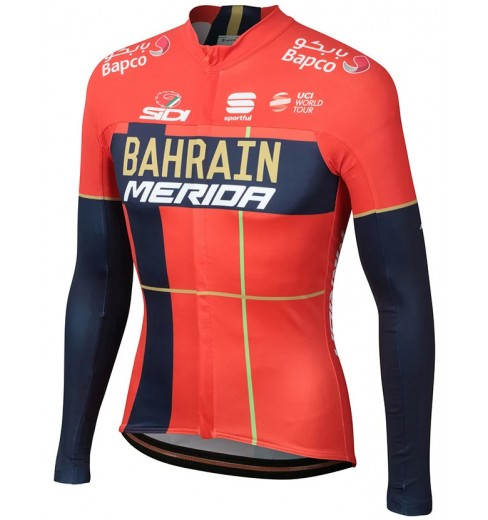 BAHRAIN MERIDA maillot manches longues Thermal 2019