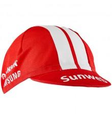 SUNWEB casquette cycliste toile été 2019